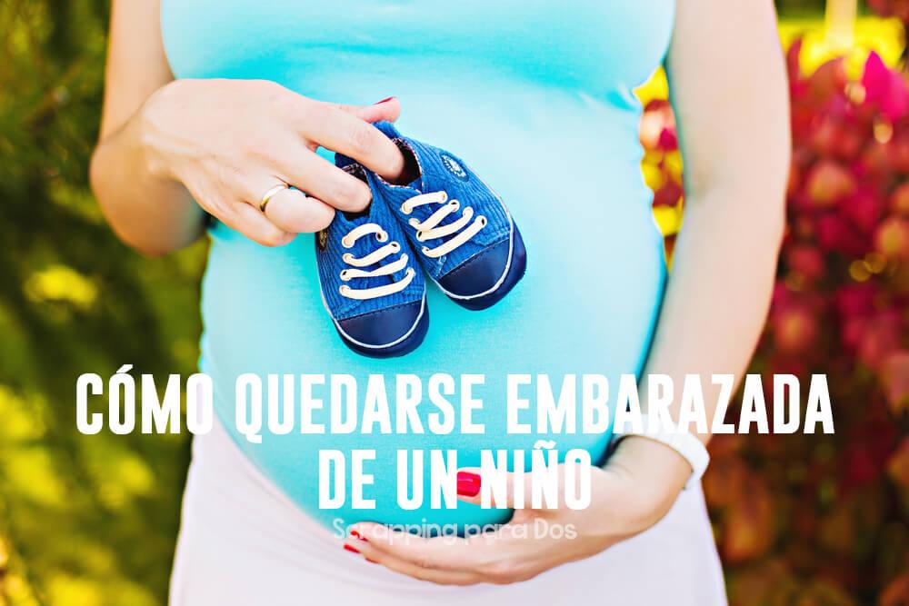 como quedarse embarazada de un niño