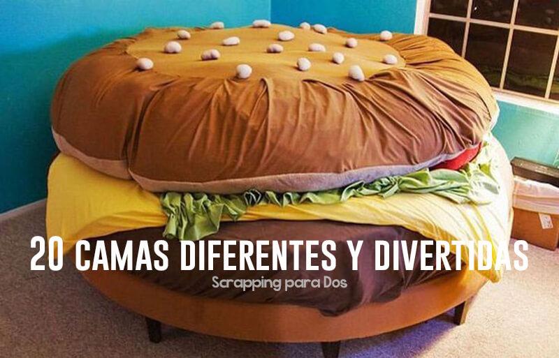 camas diferentes y divertidas para niños