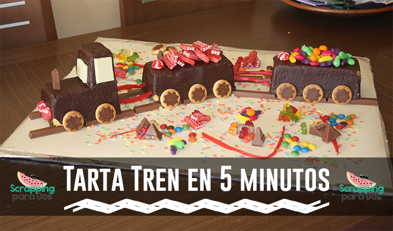 Hacer una Tarta Tren en 5 Minutos