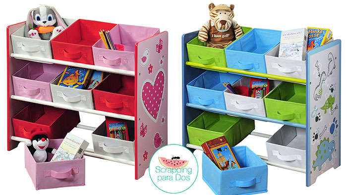 organizador para juguetes