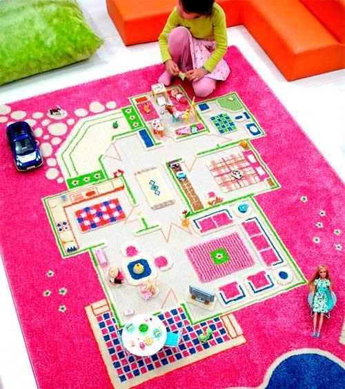 alfombra para jugar