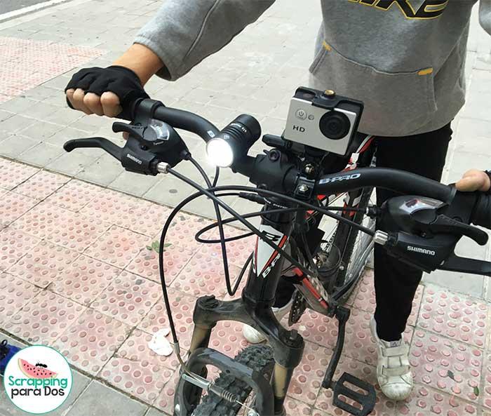 linterna para bicicleta de niños