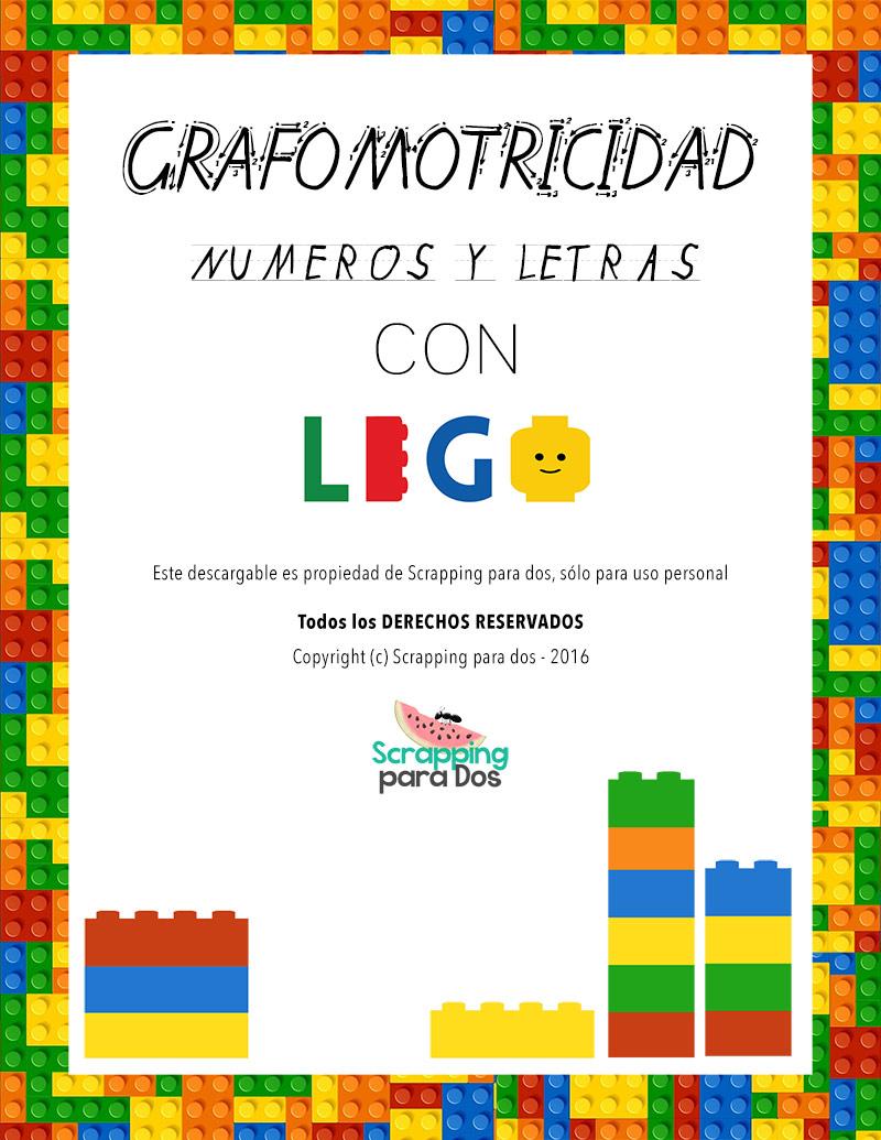 grafomotricidad con LEGO