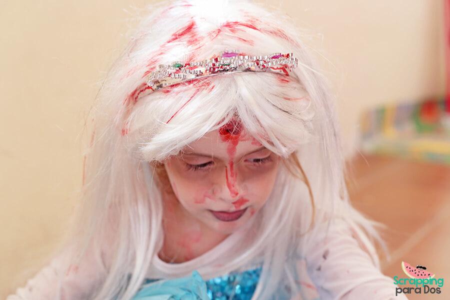 disfraz de princesa zombie