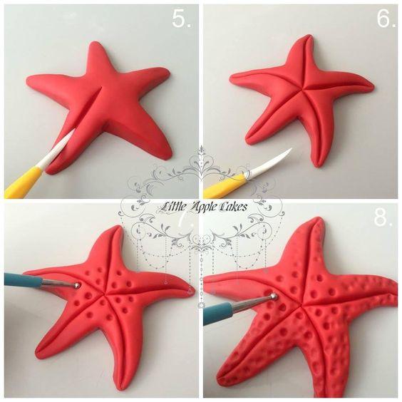 hacer una estrella de mar