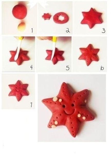 estrella de mar paso a paso