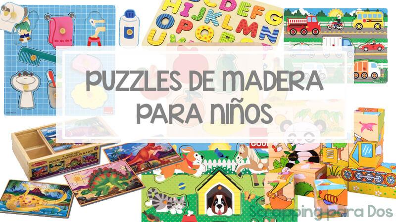 puzzles de madera para niños a buen precio