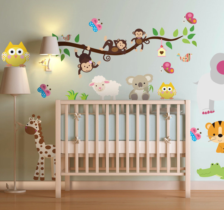 vinilos animales para bebés