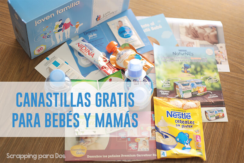 canastillas gratis para bebés y mamás