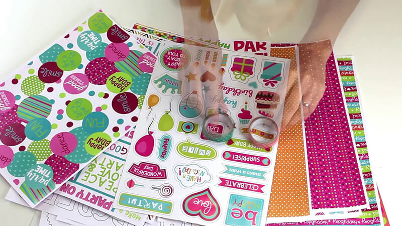 scrapbook party fiesta educa