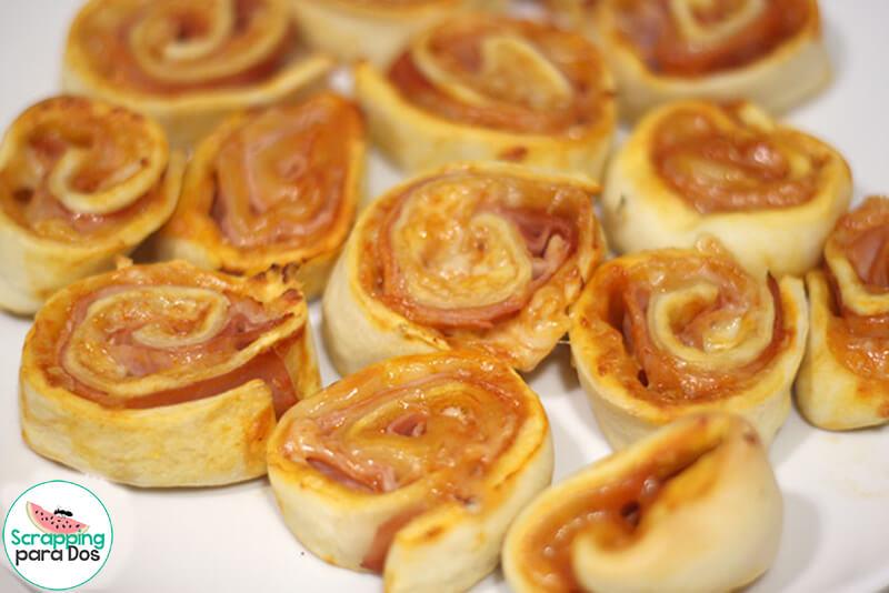 PizzaRoll o Espirales de Pizza