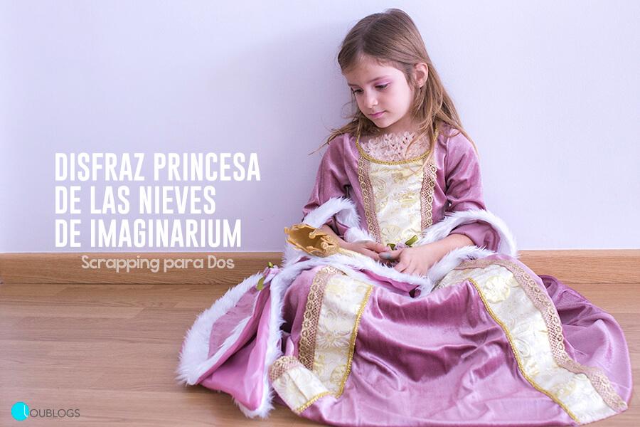 Disfraz de Princesa de las Nieves de Imaginarium