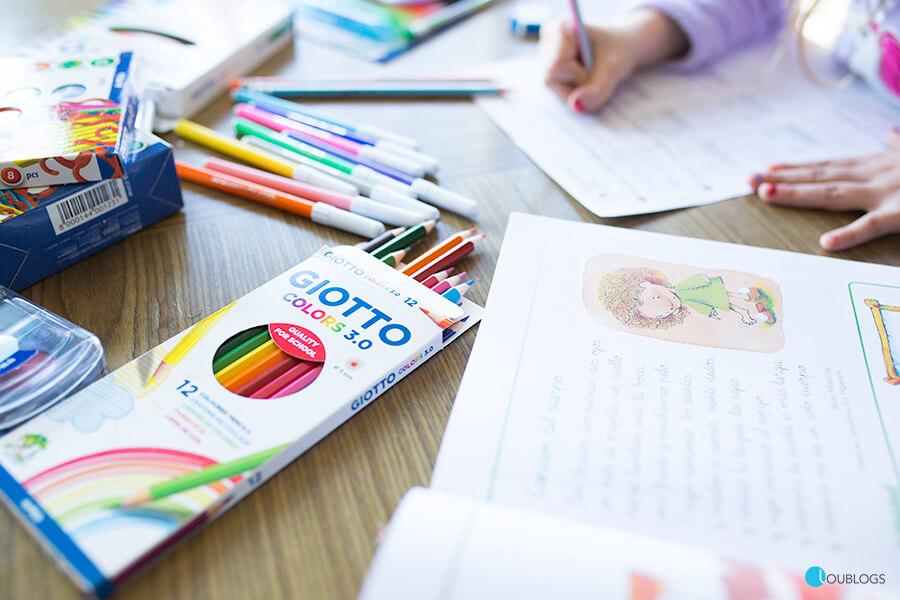 Material Escolar Para Colorear Giotto