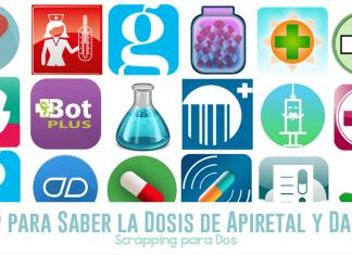App para Saber la Dosis de Apiretal y Dalsy