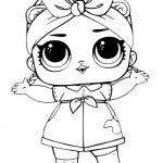 Dibujos para Colorear de las Muñecas LOL