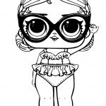 LOL para colorear con gafas
