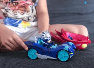 Vehículos Turbo PJ Masks Blast Racers
