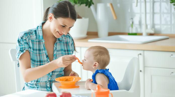 Alimentación del bebé a partir de los 10 meses
