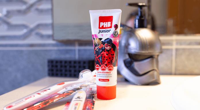 Cepillo y Pasta de Dientes de Ladybug de PHB