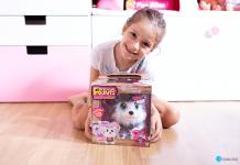Adoptamos un Husky con Rescue Runts de Bandai