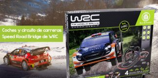 Coches y circuito de carreras Speed Road Bridge de WRC