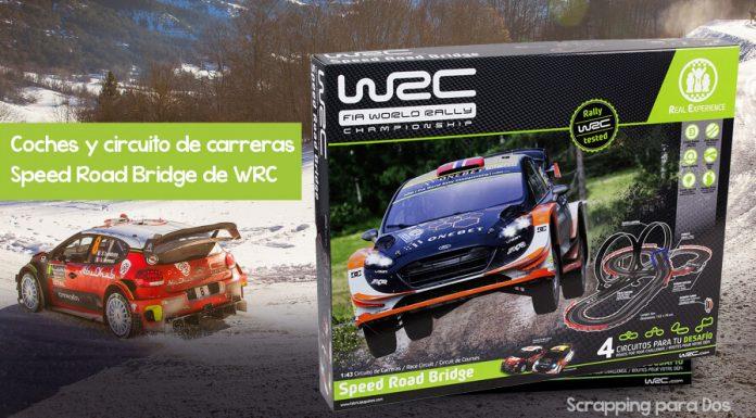 Coches y circuito de carreras Speed Road Bridge de WRC