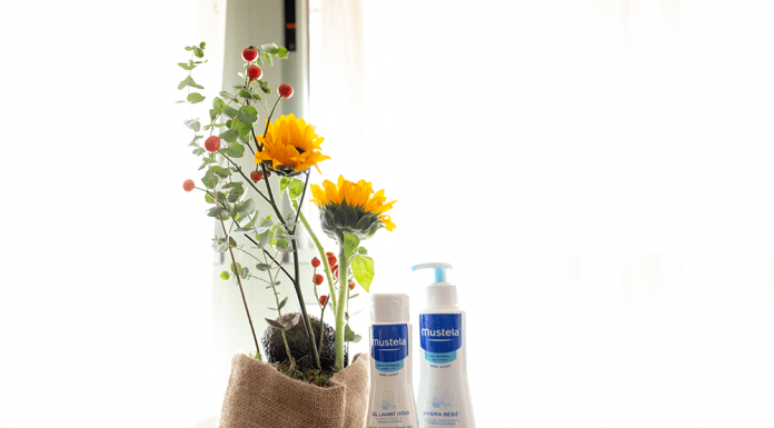 Productos para el cuidado de la piel de los bebés de Mustela