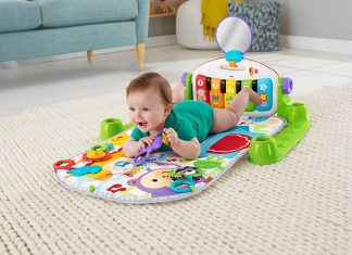 Gimnasio-piano pataditas superaprendizaje de Fisher-Price