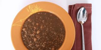 Olleta alicantina o lentejas con arroz