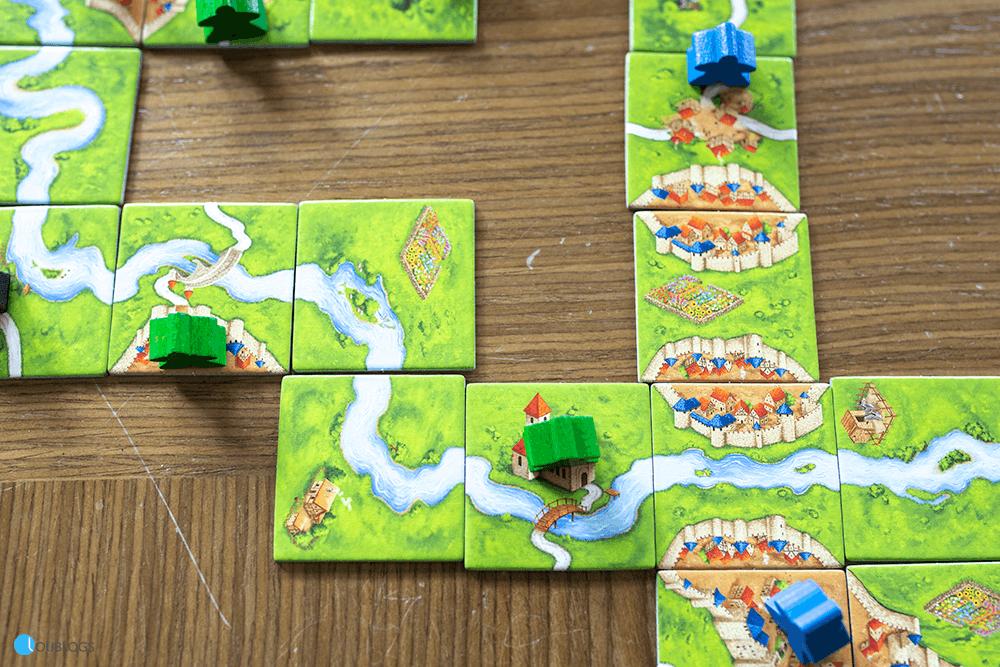 Carcassonne juego de Devir