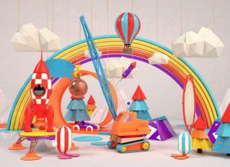 Camas y habitaciones de fantasía para niños
