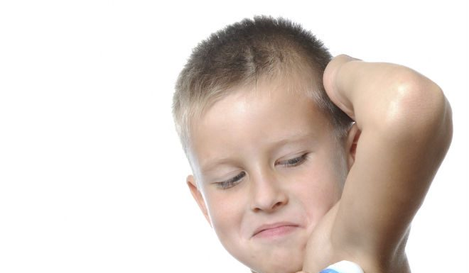 usar desodorante los niños