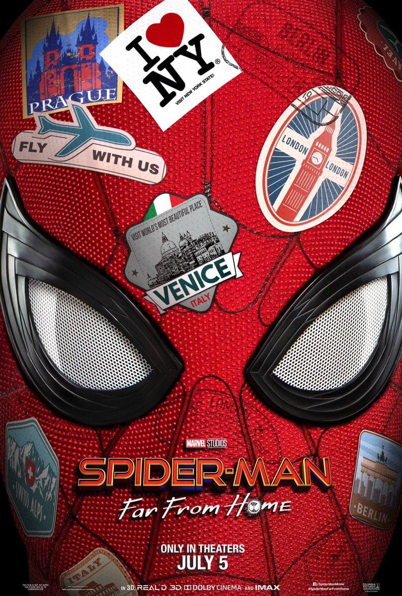Poster Spiderman lejos de casa