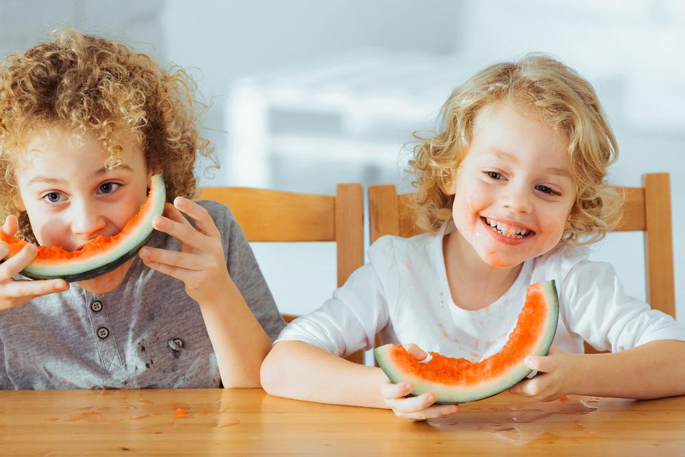 vida saludable en niños