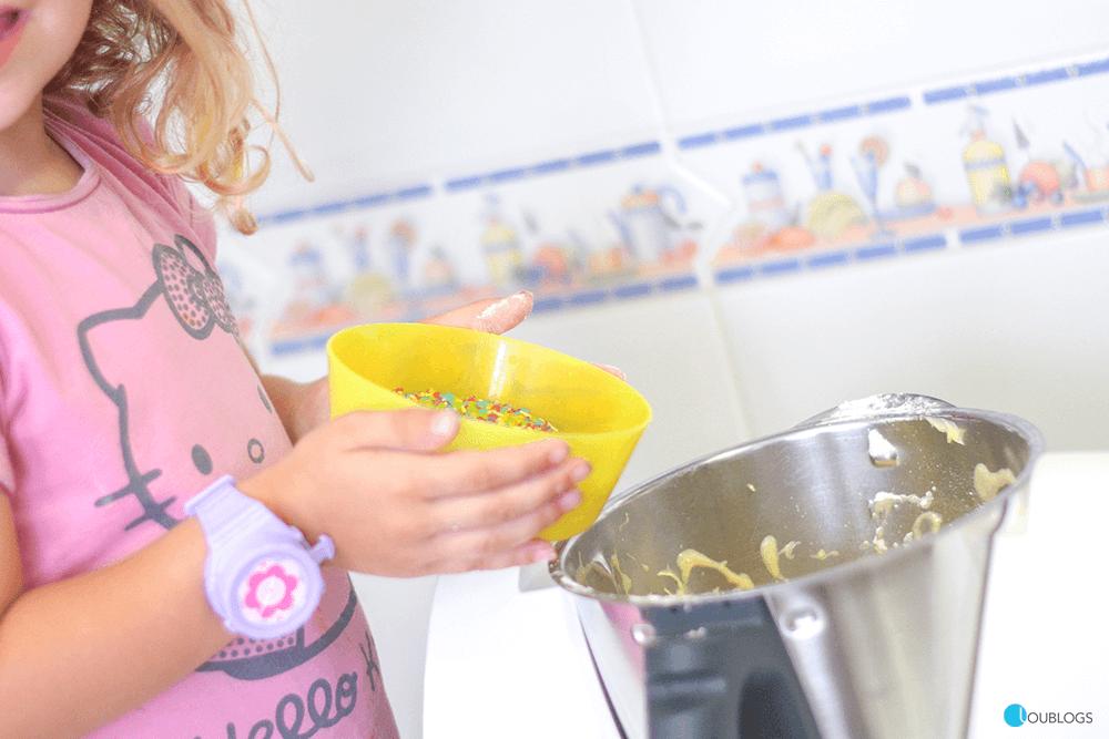 cocinar galletas con niños