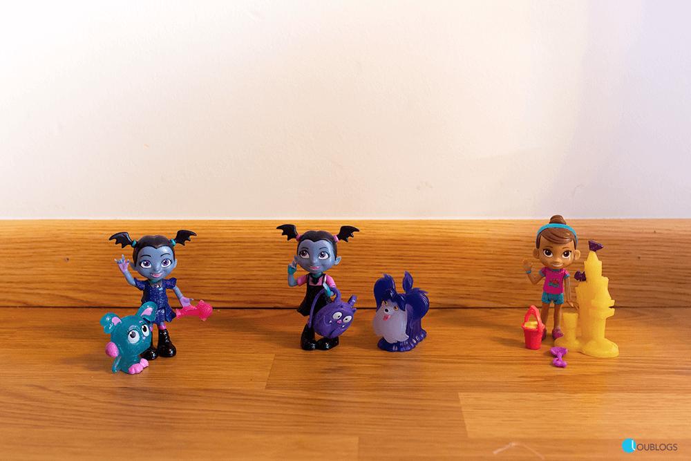 Figuras de Vampirina y sus amigos
