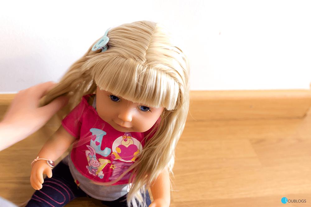 muñeca para peinarla