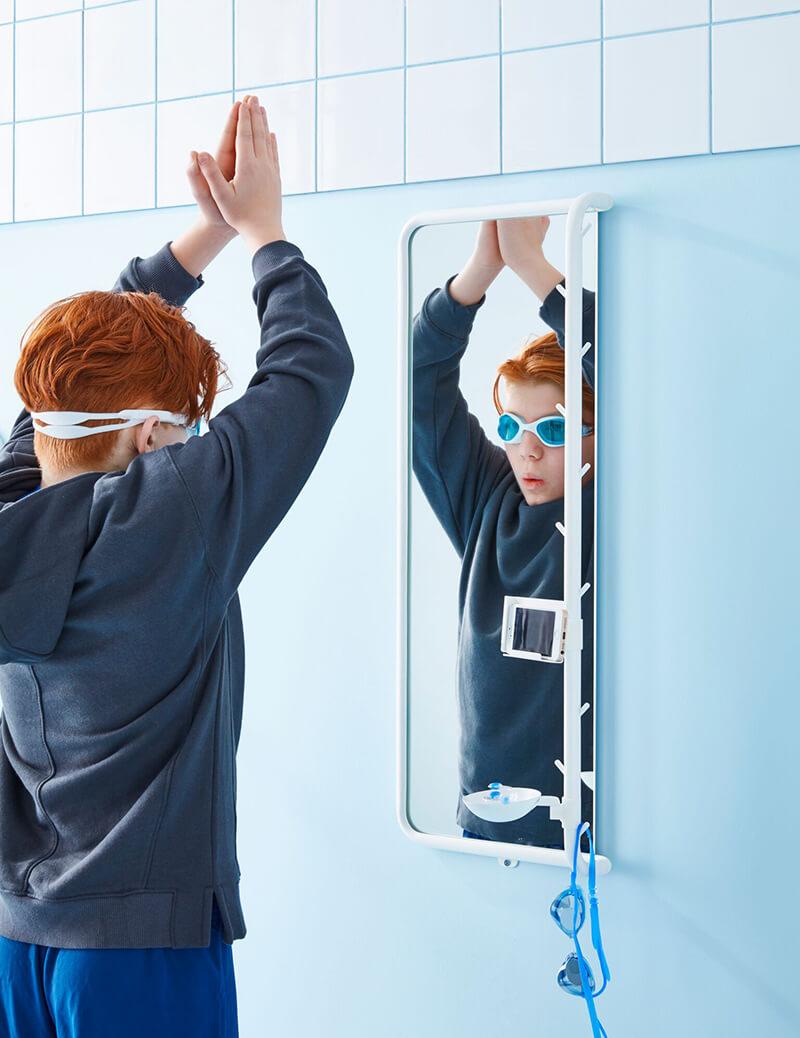 espejo para la habitación de los niños