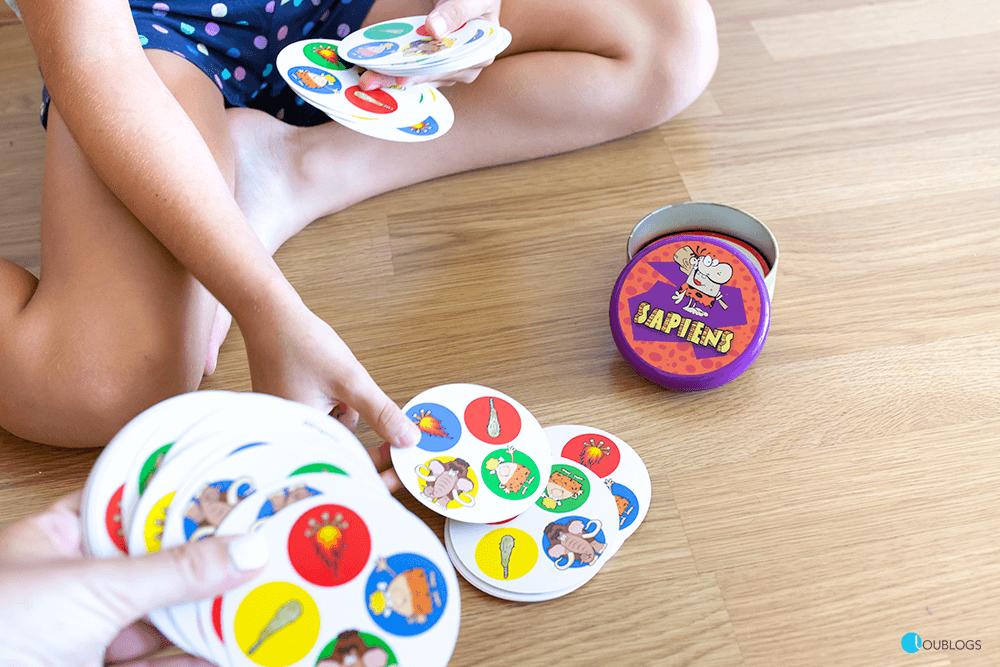 sapiens Juegos de cartas para niños