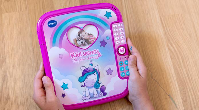 Mi primer diario secreto KidiSecrets de VTech
