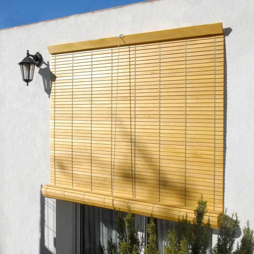 persianas de madera
