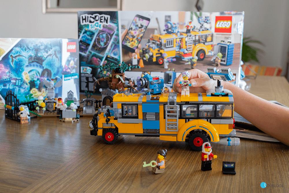 autobús de lego hidden side