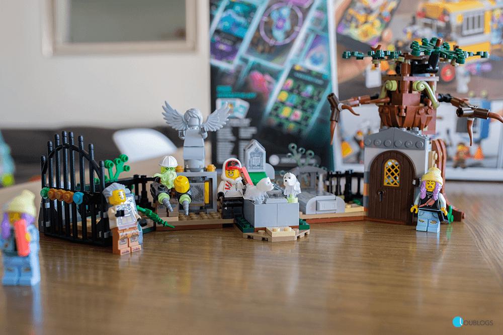 lego hidden side cementerio set
